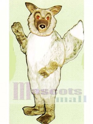 Cute Wolf Mascot Costume Animal