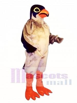 Cute Red Legged Hawk Mascot Costume Animal