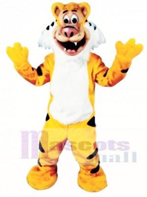 Cute Teeger Tiger Mascot Costume Animal