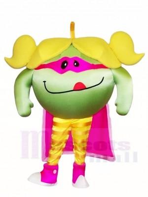 Yummy Green Apple Mascot Costumes Fruit