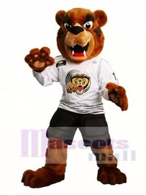 Fierce Brown Bear Mascot Costume Grizzlies Mascot Costumes Animal