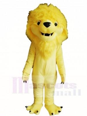 Yellow Lion King Mascot Costumes Animal