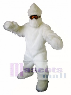 Yeti Mascot Costume Abominable Snowman Mascot Costumes Animal