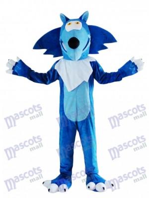 Blue Wolf Coyote Mascot Costume Animal