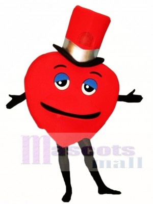 Madcap Heart Mascot Costume