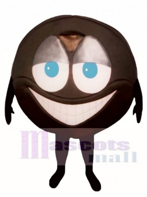 Hockey Puck Mascot Costume