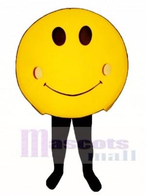 Happy Face Mascot Costume