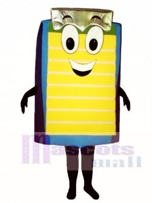 Clip Board Mascot Costume