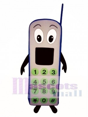 Screaming Phone Mascot Costume