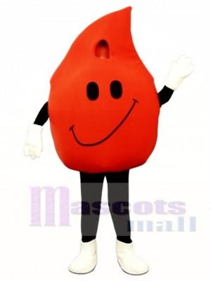 Ketchup Drop Mascot Costume