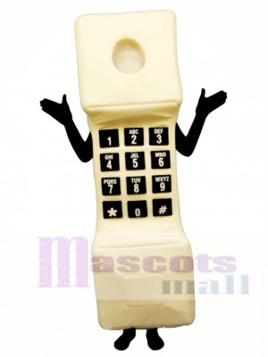 Phoney Phone Mascot Costume