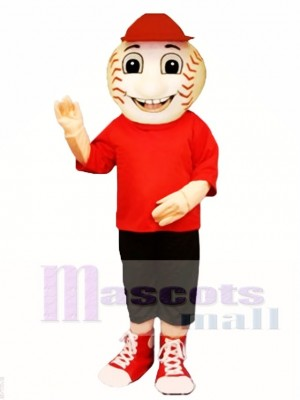 Baseball Bill Mascot Costume