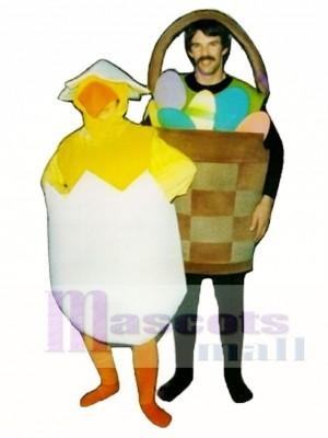 Basket of Eggs Mascot Costume