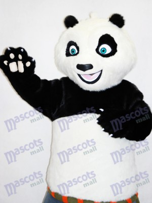 Blue Eyes Kungfu Panda Karate Mascot Funny Costume
