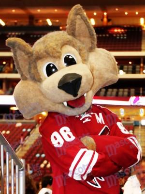 Arizona Coyotes Howler the Coyote Wolf Mascot Costume