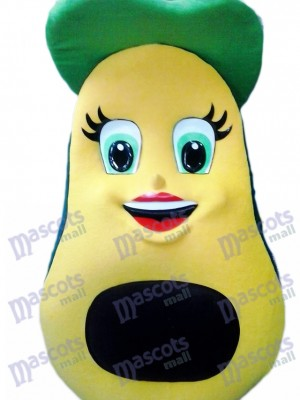 Fresh Avocado Mascot Costume Fruit Food Plant