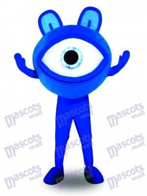 Blue Eye Glasses Sight Protection Advertising Mascot Costume Promotion