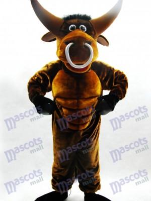 Bull Mascot Funny Costume