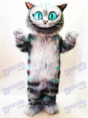 Cheshire Cat from Alice's Adventure in Wonderland Mascot Costume Cartoon Anime