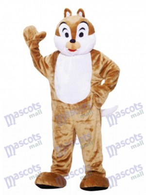 Brown Chipmunk Mascot Costume Animal