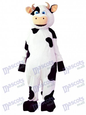 Cow Mascot Costume Cartoon