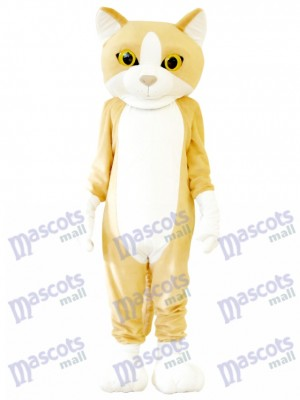 Happy Cat Mascot Adult Costume Animal Cartoon