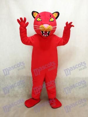Fierce Red Puma/Cougar Mascot Costume Animal