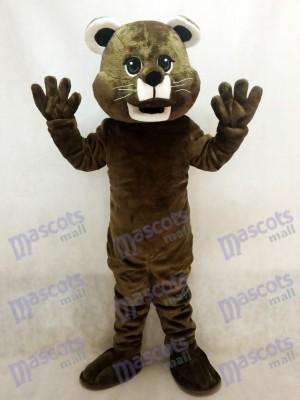 Brown Baby Cougar Mascot Costume Animal