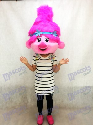Trolls Baby Poppy Mascot Costume Head Only