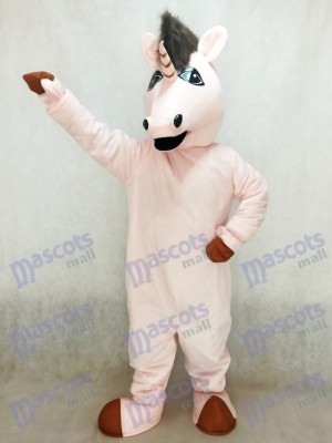 New Pink Eunice Unicorn Mascot Costume