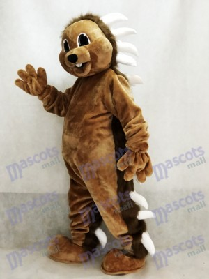 Brown Porcupine Mascot Costume Animal