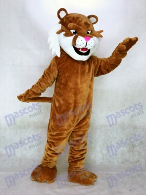 New Realistic Sabretooth Tiger Mascot Costume Animal