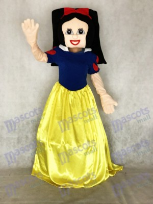 New Snow White Snowwhite Cinderella Mascot Costume Xmas Party Carnival