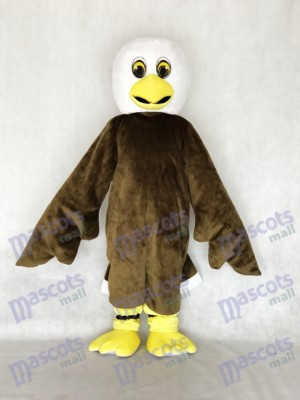 New Brown Baby Bald Eagle Mascot Costume Animal