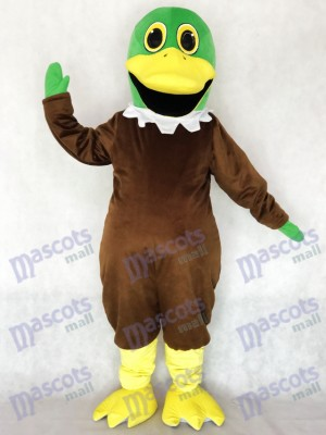 New Cute Mallard Duck Mascot Costume Animal