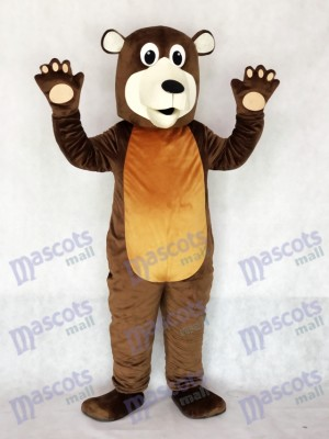 Grandpa Brown Bear Mascot Costume