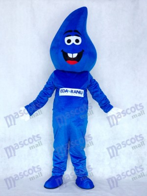 Water Drop Blue RainDrop Mascot Costume