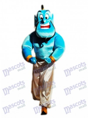 Jinn Genie Mascot Costume Cartoon Anime