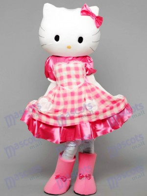 Kitty The Cat Mascot Costume Animal Cartoon
