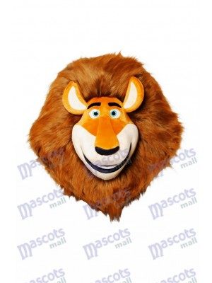 Madagascar Lion Mascot HEAD ONLY Animal