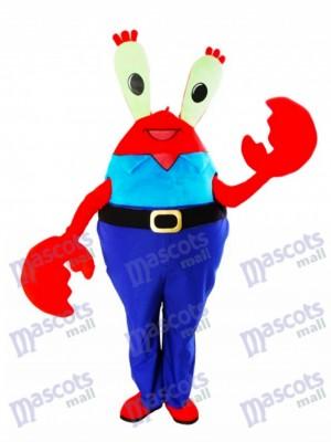 Mr. Krabs Crabs Mascot Costume