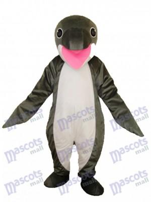 Grey Penguin Mascot Adult Costume Ocean