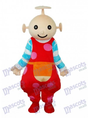 Baby Red Antenna Garden Mascot Adult Costume