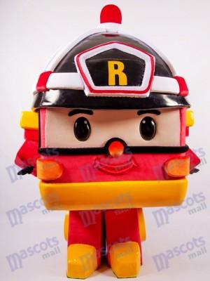 Orange Robotic Car Mascot Costume Cartoon
