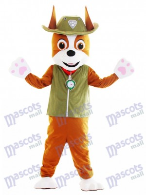 PAW Patrol Tracker Chihuahua Dog Canine Mascot Costume Cartoon Anime