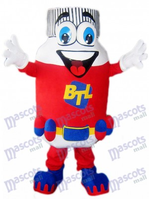 Red Pill Bottle BTL Mascot Costume