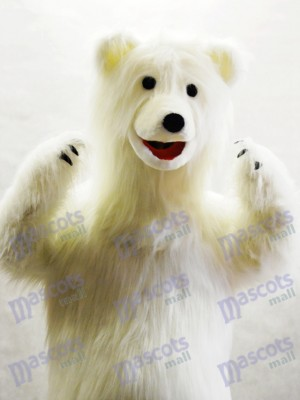 Cute Polar Bear Mascot Costume Animal