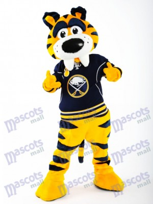 Sabretooth Sabre-toothed Tiger of Buffalo Sabres Mascot Costume Animal