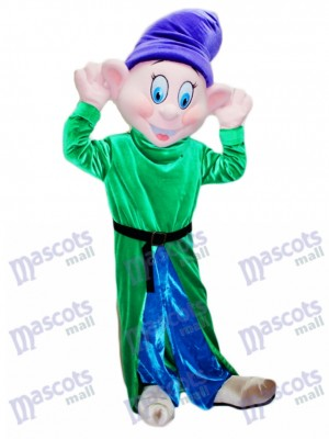 Dopey Silly Dwarf Mascot Costume