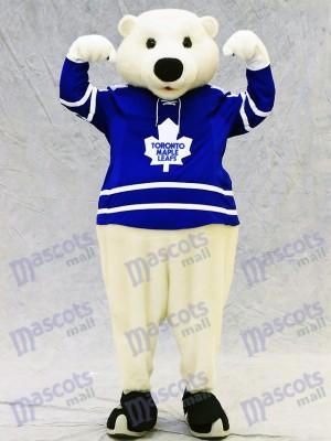 Carlton the Bear of Toronto Maple Leafs Polar Bear Mascot Costume Animal